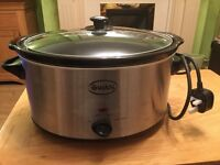 Swan Slow Cooker Large 5.5 litre capacity Used Once