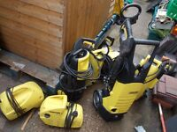 7 x karcher pressure washers large joblot