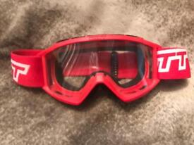 Scott Red goggles