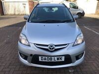 2008 Mazda5 2.0 D Sport 5dr Manual 7 Seater Family Car @07445775115 3 Months Warranty Included