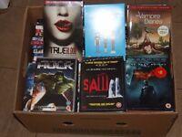 Job Lot of 75 DVD Films