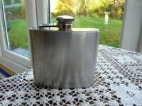 5oz Stainless Steel Hip Flask unused