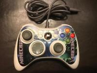Xbox 360 minecraft themed controller