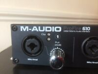 audio interface ProFire 610 M-AUDIO - perfect conditions
