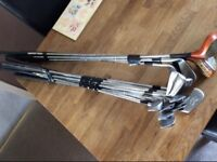 Bundle Of Used Golf Clubs