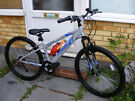 SMALL ADULTS FRONT SUSPENSION BIKE ALUMINIUM FRAME HARDLY USED