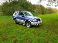 2001 Suzki Grand Vitra with very low miles and long mot until November 2018 ,px welcome ,tow bar