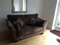 A pair of 3 seater sofas