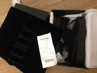 Rihanna creepers in black (size 6), authentic and in box