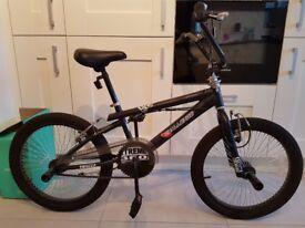 BMX Xtreme 20'' wheel bike black
