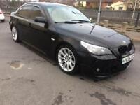 2007 56reg Bmw 525d M-Sport Black Top Spec