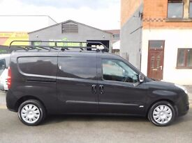 2014 Vauxhall Combo sportive lwb twin side loading doors with full length roof rack no vat (6)