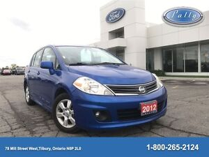 2012 Nissan Versa 1.8 SL, One Owner, Local trade, Mint!