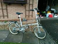 Raleigh / phillips folding bike