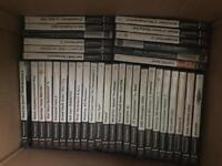 Large amount of DVDs, PS2,PS3 and PC games