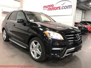2015 Mercedes-Benz M-Class ML350 BlueTEC 4MATIC AMG LOADED