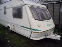 caravan for spares or repairs elddis