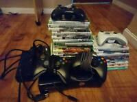 Xbox 360 Slim 250Gb + 19 games
