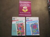 Key Stage 3 Learning Guides for Mathematics and Science + Mathematics Revision Guide
