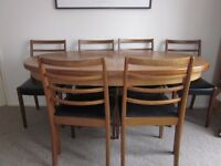 6-8 Seater Dining Table + 6 Chairs