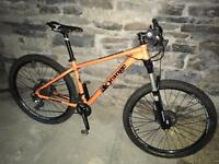 Orange clockwork 120 s Mountain Bike