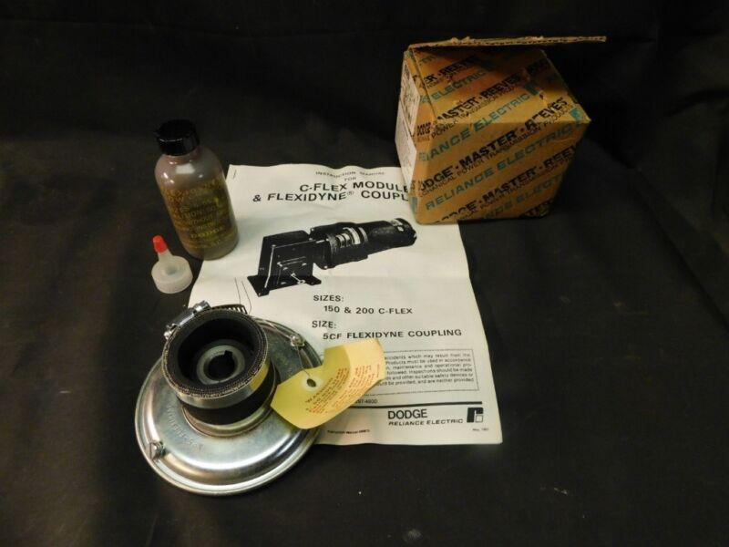 "NEW!! DODGE 5CF 5/8"" Flexidyne Coupling Kit -- No. 5"