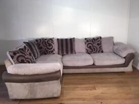 Beautiful DFS corner sofa with free delivery within 10 miles