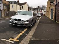 BMW E39 530i M SPORT M5 plate LOW MILEAGE not 520i,523i,525i,525d,530d,540i,535i
