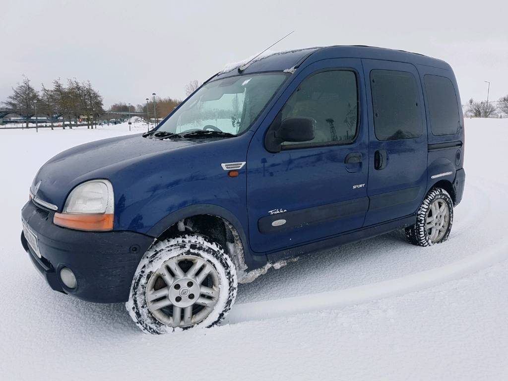 rare renault kangoo 4x4 trekka 1 6 16v in middlesbrough. Black Bedroom Furniture Sets. Home Design Ideas