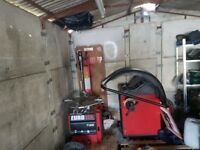 tyre changer and wheel balancer and new compressor for sale