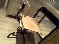 Vintage school-desk chair