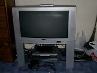 "hitachi 26"" tv on stand"
