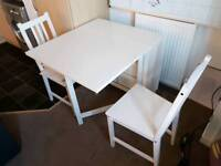 Ikea norden folding table and chairs