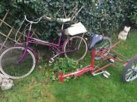 Vintage Shopper Cycle/Tricycle project for spares or repair