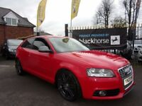 AUDI A3 2.0 TDI S Line 3dr (red) 2009