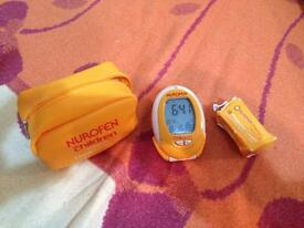 Nurofen digital ear thermometer as new.