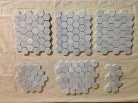 Avenza Marble Hexagonal Tiles 28x25cm