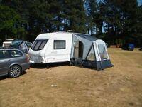 2000 Eldiss Hurricane EX 2000 2 berth caravan for sale