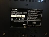 "32"" Toshiba LCD 1080p tv"