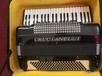 Italian piano accordion musette