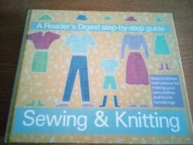Sewing & Knitting. Step-by-step guide. Readers Digest