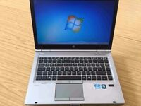 HP Elitebook 8470p laptop 8gb/16gb ram Intel 2.6ghz x 4 Core i5 - 3rd gen CPU & ATI graphics