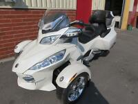 2012 CAN AM SPYDER RT-S LIMITED