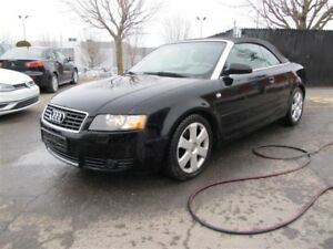 2005 Audi A4 QUATTRO, DÉCAPOTABLE, TRACTION INTEGRALE !!