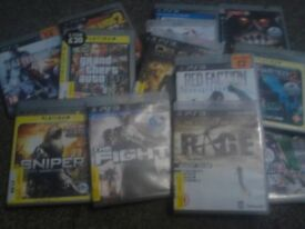 14 PS3 games good condition all working