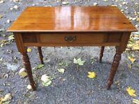 Antique Vintage Victorian / Edwardian Desk Console Dressing Table