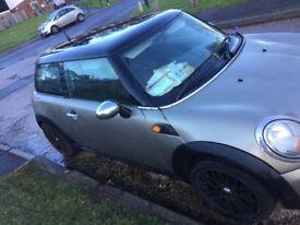 Mini Cooper 2007 r56 grey spare repairs