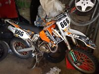 ktm 450 03 loads of work done