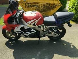 Honda fireblade cbr 900rr 20000miles. Needs to go this weekend