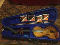 Stentor, full size Violin for sale plus new strings and neck rest